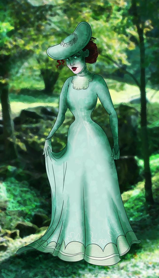 Seafoam Green by Demonic-Fantasy
