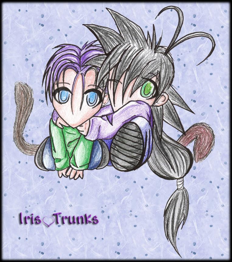 Iris 'n Tru chibis by war-armor