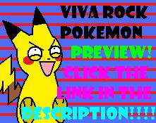 Viva Rock Pokemon by FancyPancakes