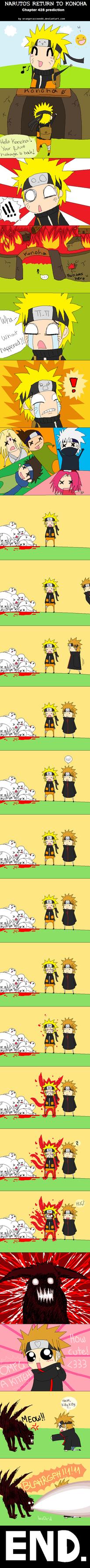 Naruto's Return to Konoha by FancyPancakes