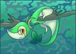 The Grass Snake Pokemon