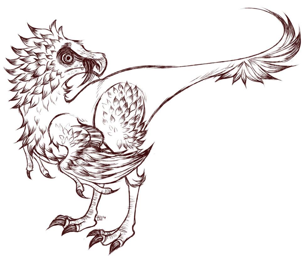 Bearded Vulture by FancyPancakes