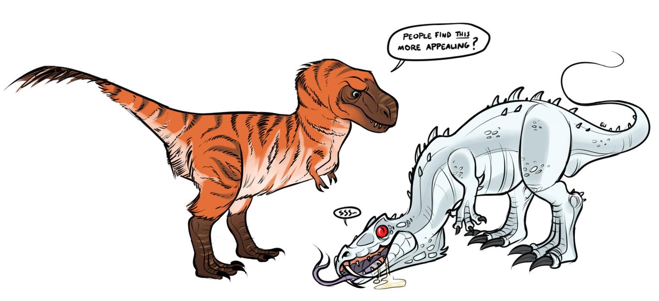 D-Rex by FancyPancakes
