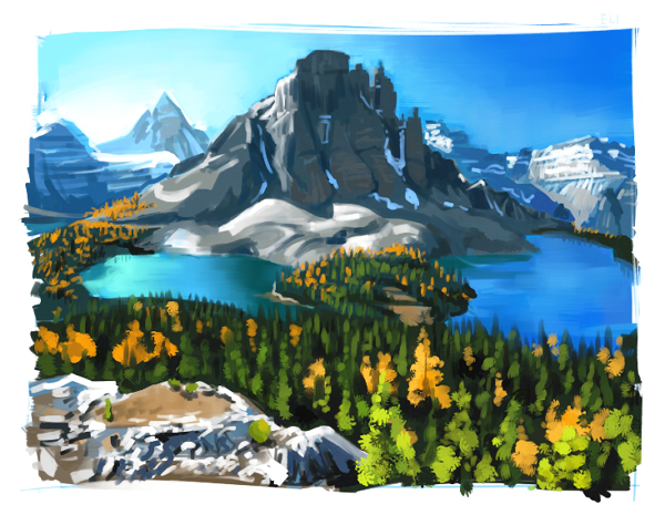 Canadian landscape - Thumbnail by FancyPancakes