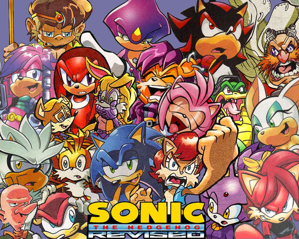 Sonic Revised: the Logo