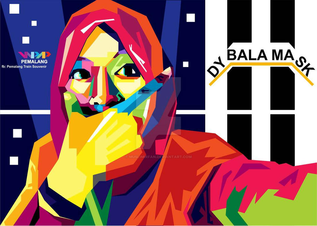 dybala mask indonesian teacher by muslimirfan