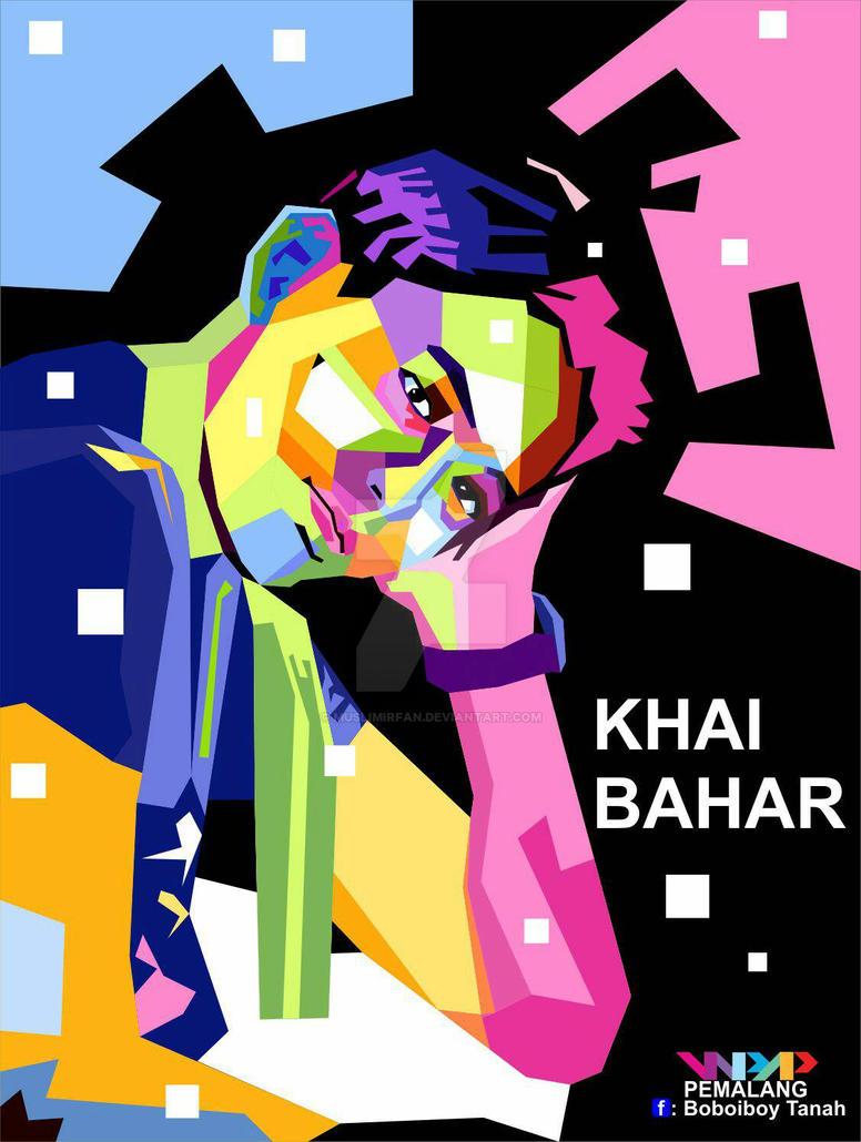 HBD Khai Bahar #khaibahar by muslimirfan