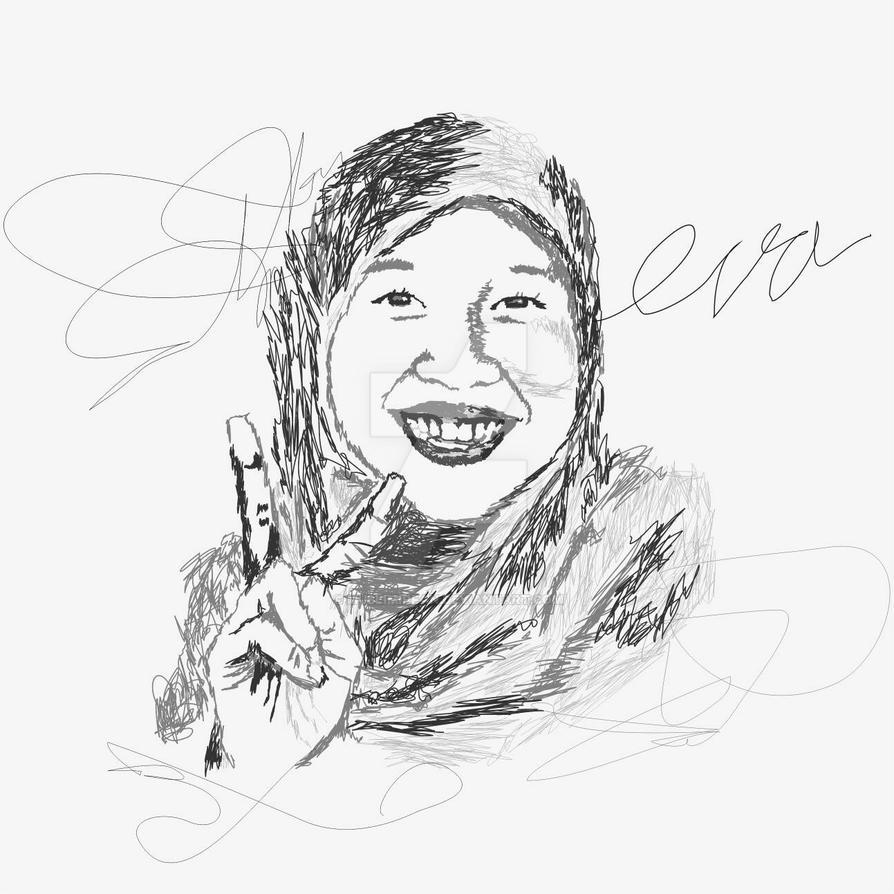 scrible art #eaka by muslimirfan