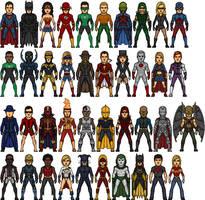 DC Heroes by Alexander514