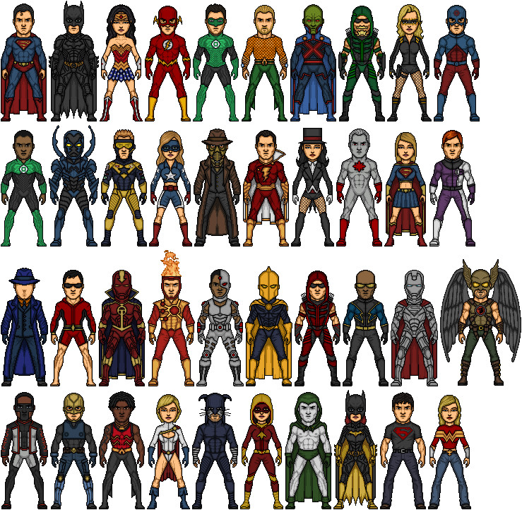 DC Heroes by Alexander514 on DeviantArt