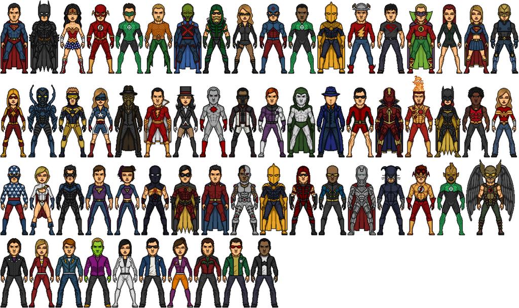 DC Universe Heroes 2020 by Alexander514