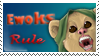 Ewoks rule stamp by The-manu