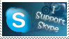 I support Skype Stamp by The-manu