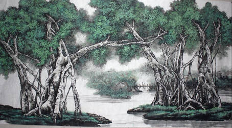 Chinese-painting-2 by Dresscodemadness