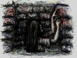 Sadako in the Well by Mablox