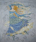 Air Goddess Cross Stitch