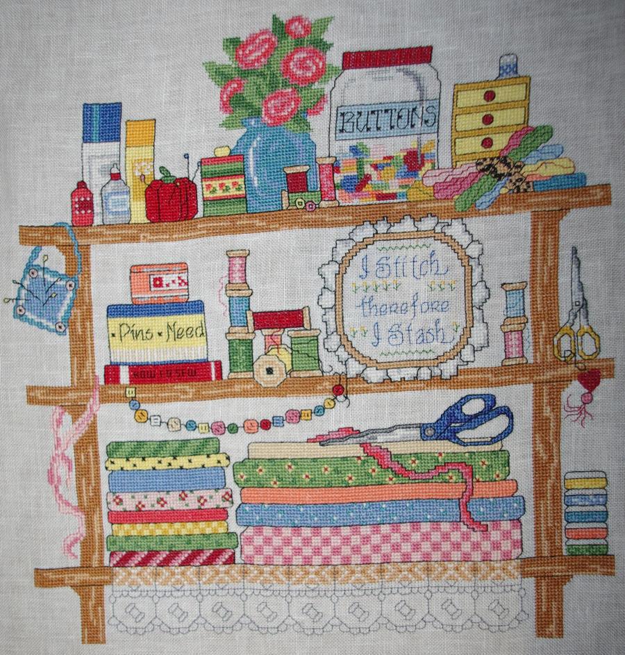 I Stitch Therefore I Stash by Tishounette