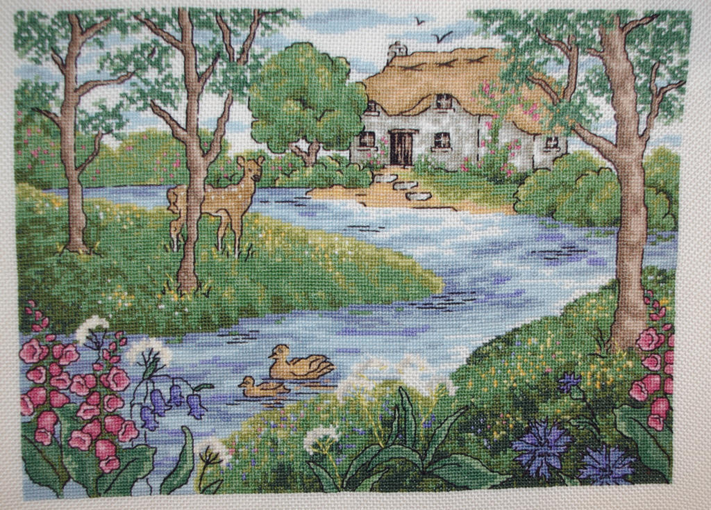Riverside Retreat by Tishounette
