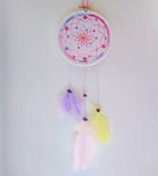 Dream Catcher Cross Stitch by Tishounette