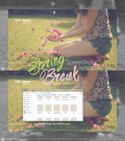 Spring Break {screenshoot} by JustOurFeelings