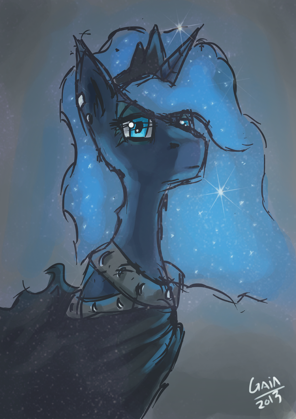 Portrait of Stars by Gaiascope