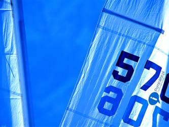 Blue Sails Pominiete Wallpaper