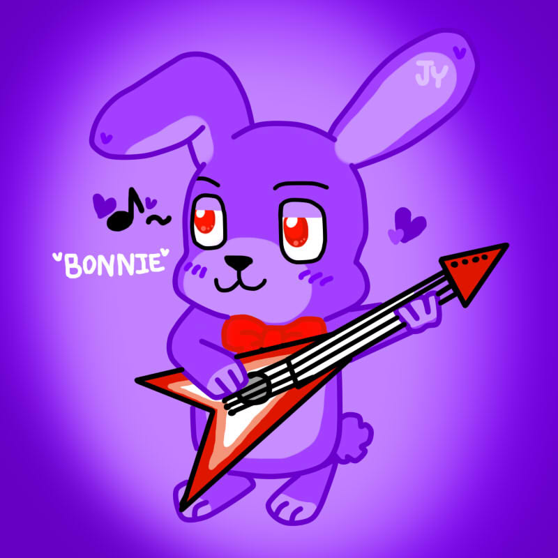 Cute bonnie mouse art by chococookie5 on deviantart