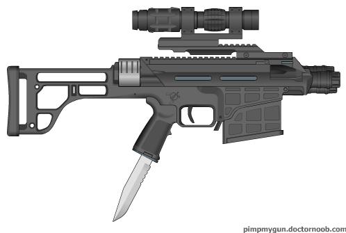 Popcap Trench Pistol by BurnerMeen