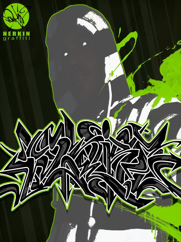 Nerkin graffiti ID by Nerkin