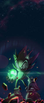 The power of Chaos Emerald by Nerkin