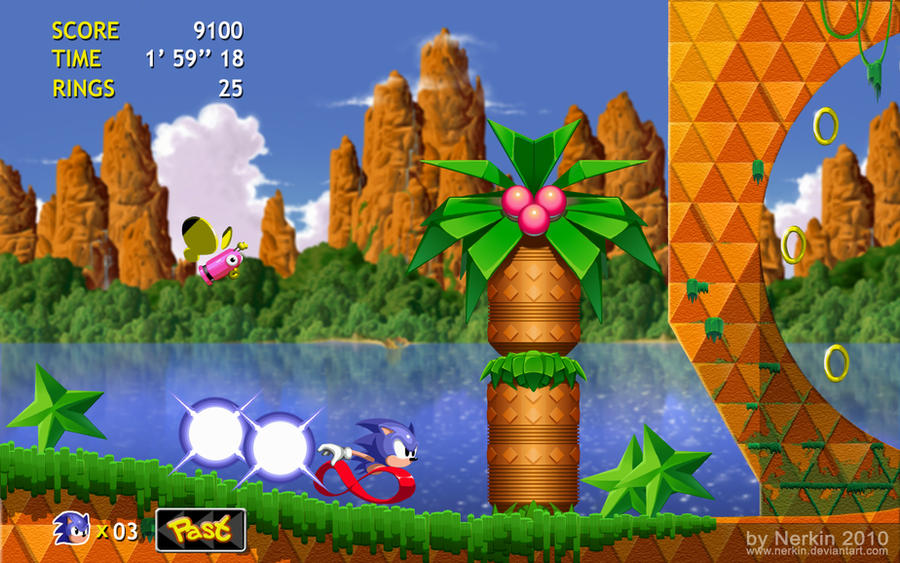 Sonic CD HD by Nerkin