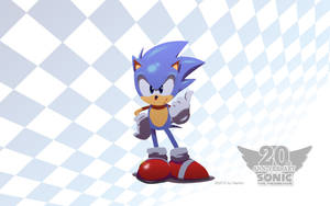 Sonic 20th Anniversary by Nerkin