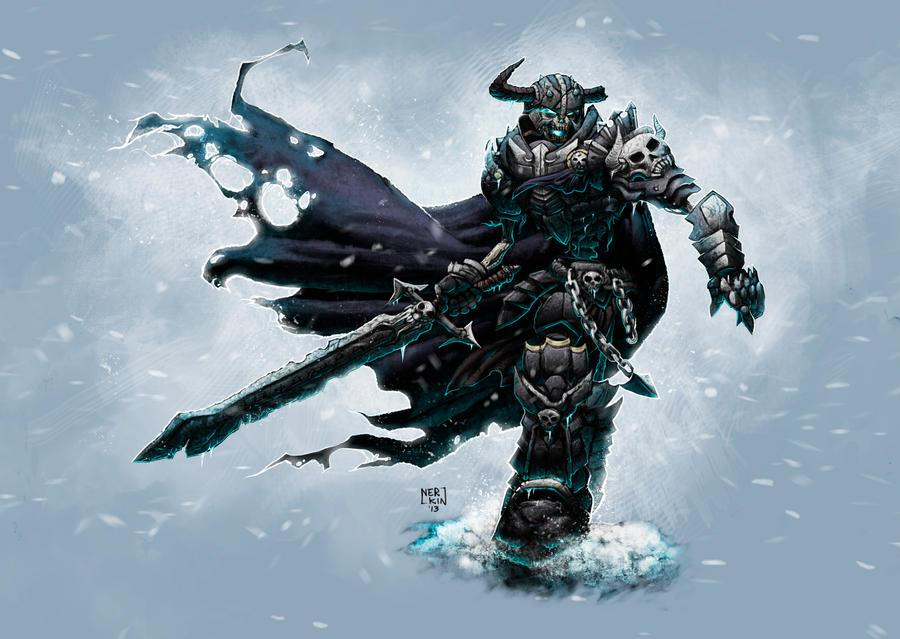 Undead Warrior by Nerkin