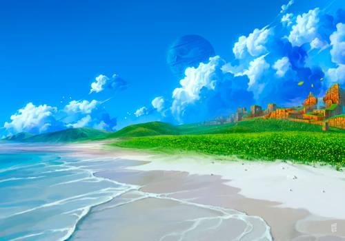 Coast of Emerald Hill