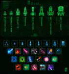 Star Patrol icons by Nerkin