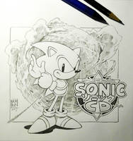 Sonic CD tribute by Nerkin