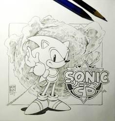 Sonic CD tribute by Nerkin
