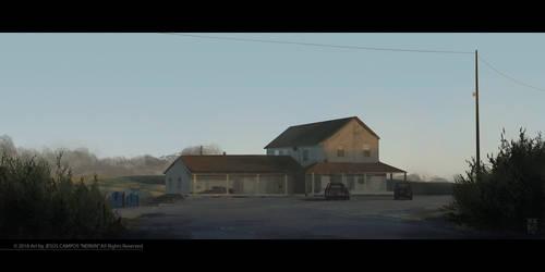 Cooper's farm by Nerkin