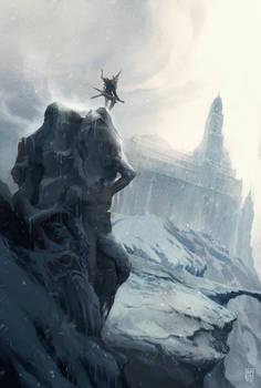 Frozen summit