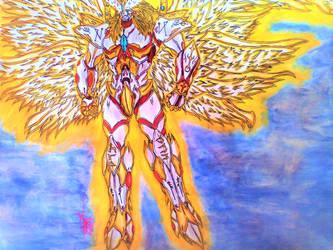 The Warrior of Heaven! by HeeroDemonFox20