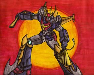 Invincible Steel Man - Daitarn 3! by HeeroDemonFox20
