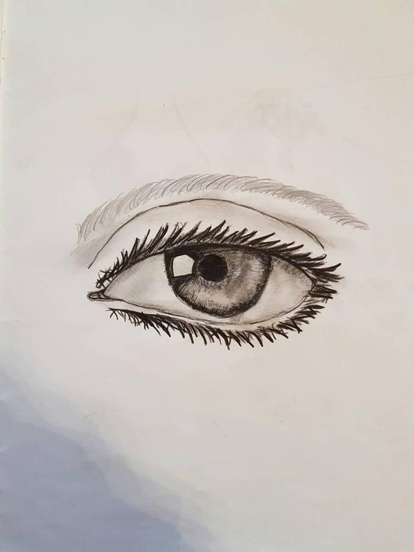 realistic eye by LucalGlaeser