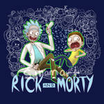 Rick and Morty T-Shirt Design