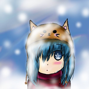 Snowy Girl by TreevaLord