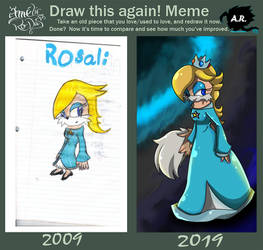 Rosali Meme old and after psd by Ameblaziken004