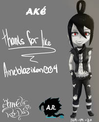 Ake remake oc AR ameblaziken004 by Ameblaziken004