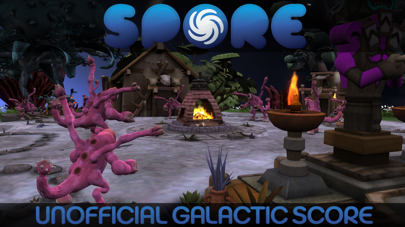 Spore UGS Title Card: Tribal by GBAura