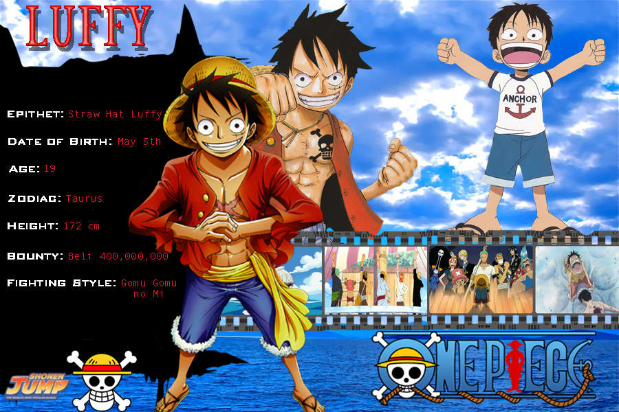 Luffy Profile By Revy11 On Deviantart