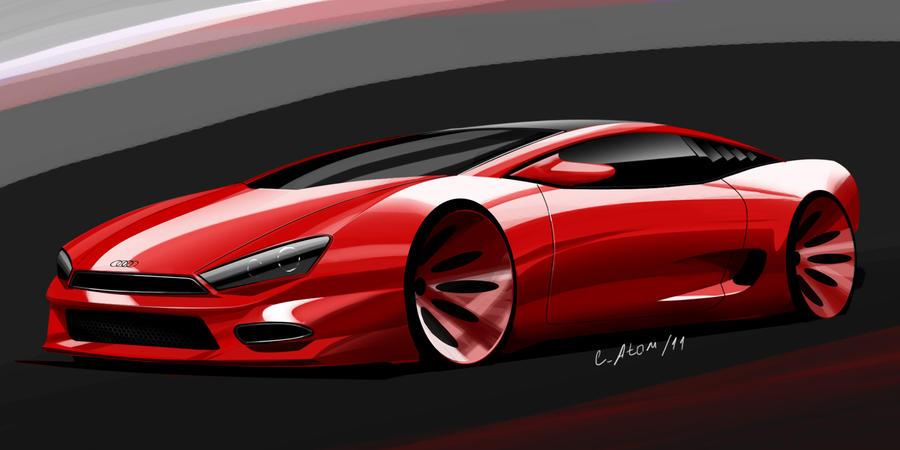 audi concept sport car by LocoAtomo