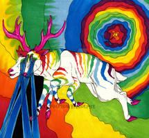 Psychedelic Deer FINISHED